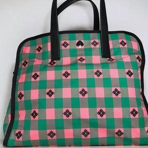 kate spade Bags - Kate Spade Morley Large tote bright pink green